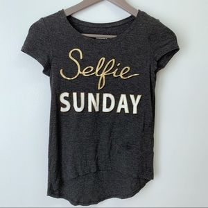 3/$25🦄Epic Threads Selfie Sunday Tee